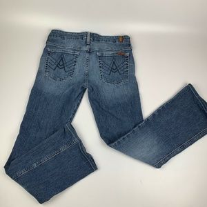 7 for All Mankind Boot Cut Jeans Sz 27